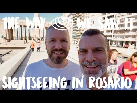 Sightseeing in Rosario / Argentina Travel Vlog #90 / The Way We Saw It