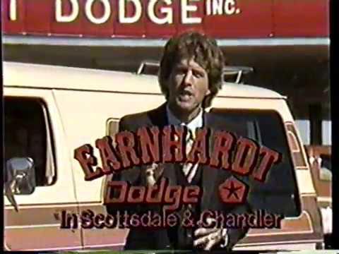 1981 Earnhardt Dodge Dealer TV Commercial - YouTube