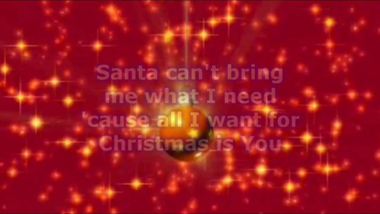 Jessie James Decker - All I Want For Christmas Is You (Lyrics) - YouTube