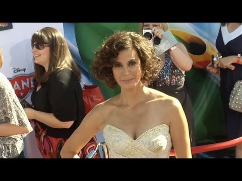 Teri Hatcher and Emerson Tenney PLANES World Premiere Red Carpet Arrivals