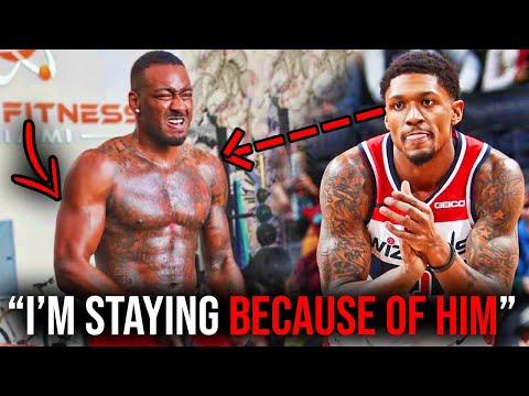 John Wall is Healthy and looks SCARY! Why Bradley Beal Wants to STAY