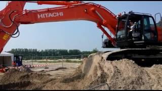 Hitachi 490 zaxis Tkd 2016