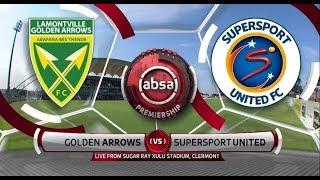 Absa Premiership 2018/19 | Golden Arrows vs SuperSport United