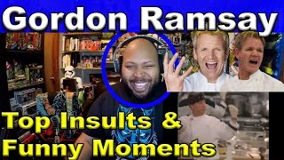 Gordon Ramsay Best Insults And Funny Moments Reaction