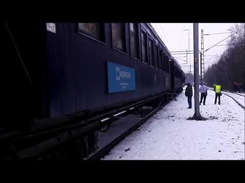 Höyryjunalla Kotkasta Haminaan