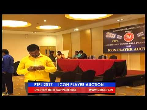 PTPL 2017 I ICON PLAYER AUCTION