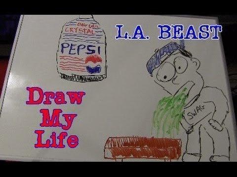 """""""Draw My Life - L.A. Beast"""""""