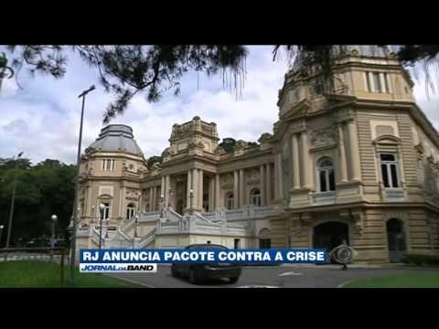 RJ anuncia pacote de medidas para fugir da crise