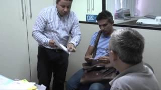 Reportagem Servidores da  UNEAL na SEPLAG- 12/11/2015