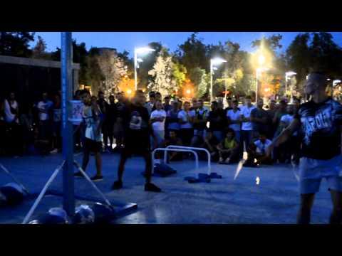3rd Street Workout Event Greece