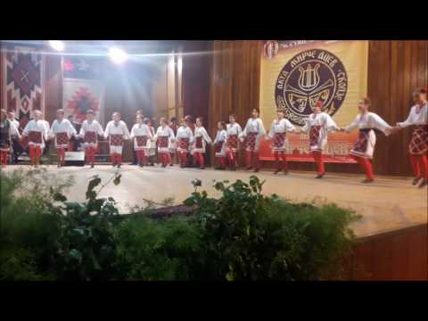 "Children's folk dance group AKUD ""Mirce Acev"", Skopje, Macedonia"