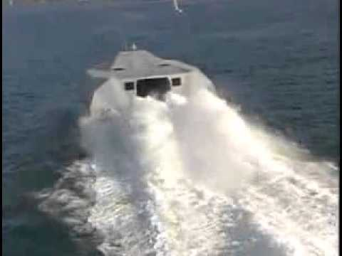 M80 Stiletto   Navy Stealth Vessel built by Knight & Carver Low