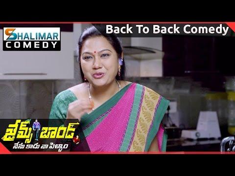 James Bond Movie || Full Length Back To Back Comedy  || Allari Naresh || Shalimarcomedy