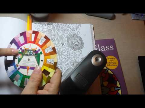 Coloring Books and the Color Wheel
