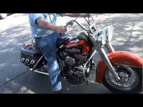 Hunting Harley's, 1956 Panhead Hydra Glide