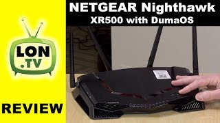 NETGEAR Nighthawk XR500 Pro Gaming Router Review with DumaOS