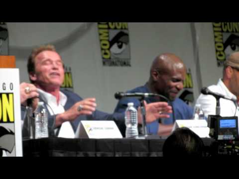 Expendables 2 Cast Rocks Comic-Con 2012