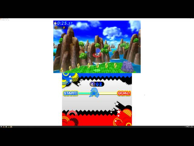 Nintendo 3DS Emulator (Citra 3DS) - Sonic Generations