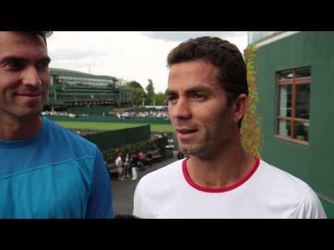 Wimbledon 2014 Wednesday Interview Tecau Rojer