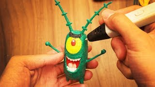 Making Plankton with 3D pen