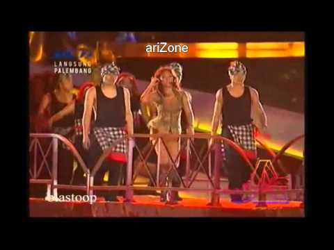 "Agnes Monica ""Shake It Off"" (LIVE Closing Ceremony SEA GAMES 2011)"