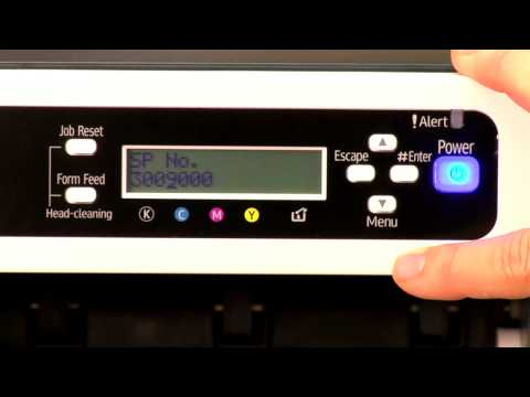 Ricoh SG 3110DN Printer: Clear a 28212 Error -