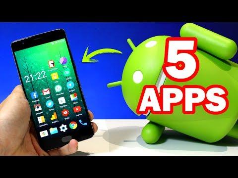 Mejores APLICACIONES Android GRATIS - Top 5 UTILES