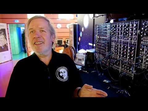 Large Format + Eurorack Combine In One Modular Synthesizer