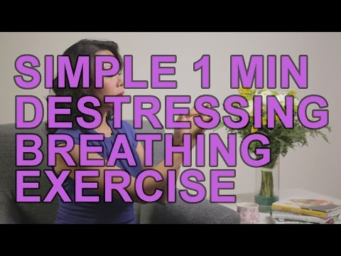 Simple Breathing Exercise To Destress And Relax