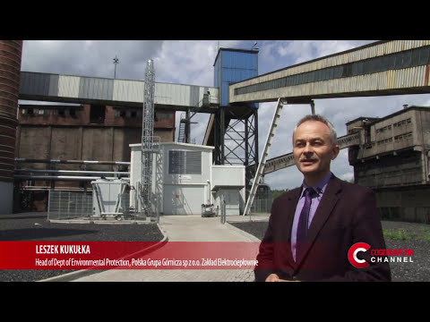 A coal mine in Poland fuels a 2 MW cogeneration plant - English Subt