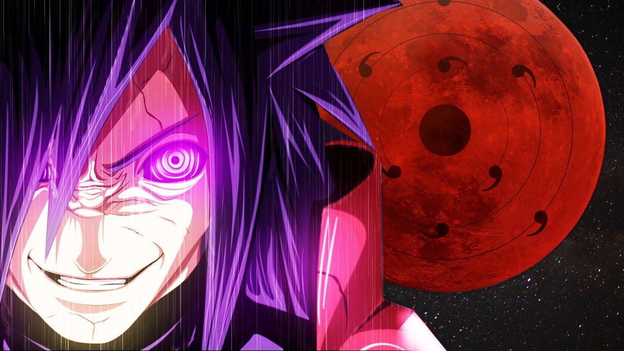Image result for madara uchiha moon