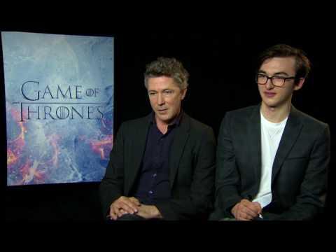 "INTERVIU Aidan Gillen şi Isaac Hempstead din ""Game of Thrones"""