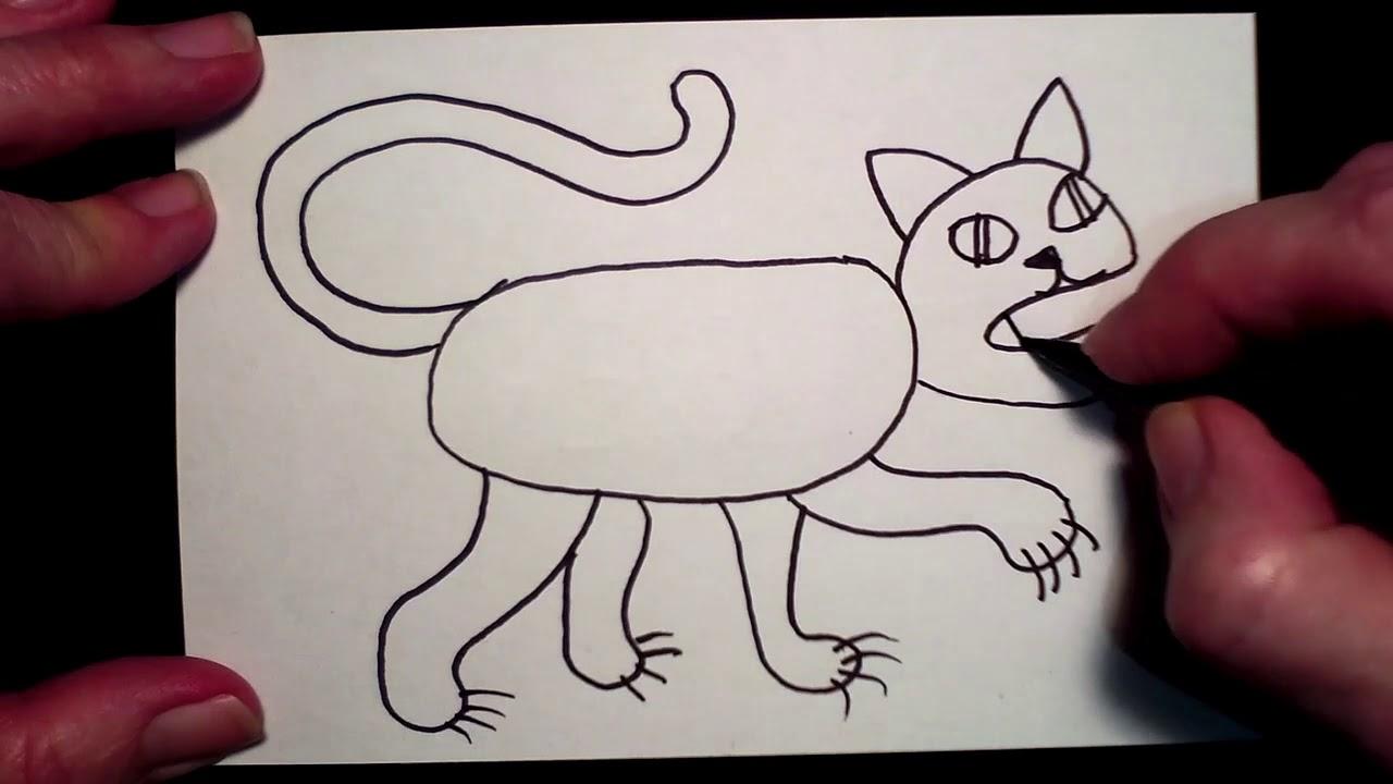 Draw a Tiger with Lynda B - YouTube