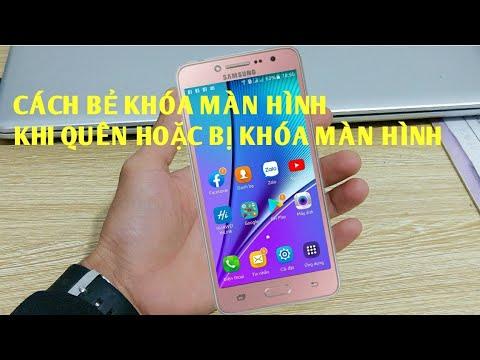 Cách xử lý khi quên  mật khẩu khóa màn hình điện thoại Samsung2019-2020