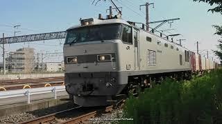 《JR貨物》銀のゴトーさんEF510 510号機が牽引する3099レ貨物列車(R3.7.30)