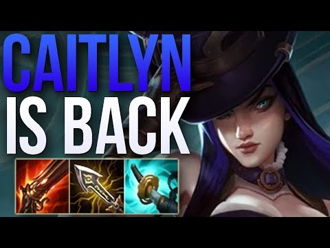 CAITLYN BUFFS IN PATCH 8.24b MADE HER GOOD AGAIN | GRANDMASTER CAITLYN ADC GAMEPLAY | Patch 8.24 S8