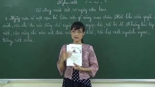 Tiếng Việt lớp 2: Có công mài sắt có ngày nên kim [Học hè -Vừa học vừa vui] - Phần 1