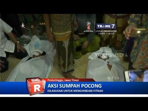 Dituduh Miliki Santet, Warga Probolinggo Jalani Sumpah Pocong