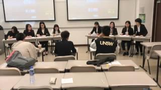 2017年香港新生杯辩论赛初赛第四场 岭南大学vs香港浸会大