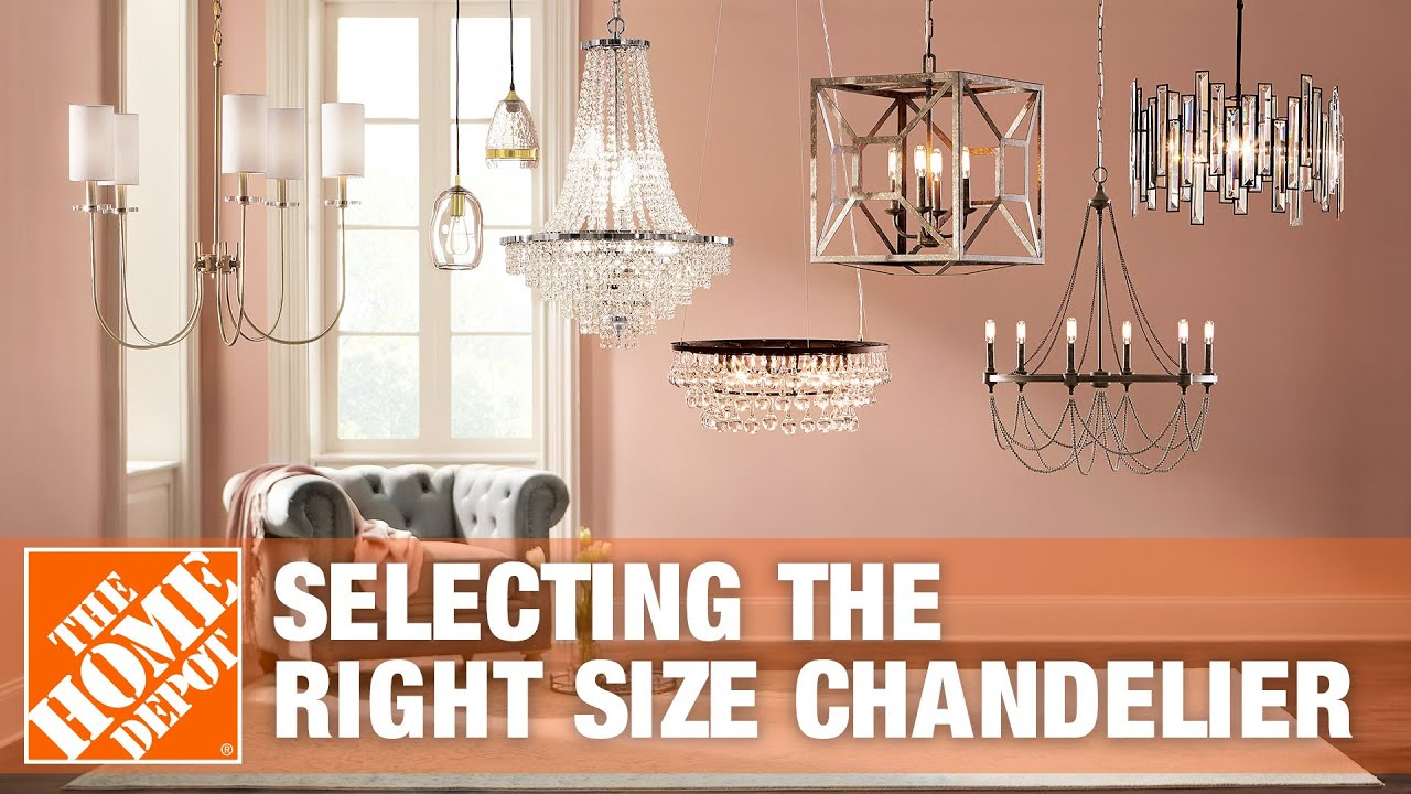 Selecting The Right Size Chandelier