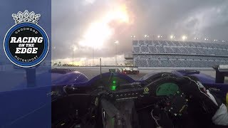 Rumbling Pescarolo battles Le Mans winning Audi R8 at Daytona | on board