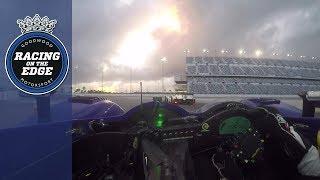 Rumbling Pescarolo battles Le Mans winning Audi R8 at Daytona | on board