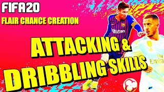 FIFA 20 ATTACKING & DRIBBLING TIPS (HOW TO ATTACK & CREATE CHANCES USING OP SKILLS IN FUT CHAMPS)