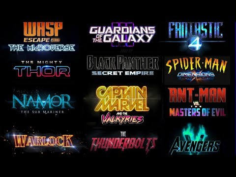 None - Disney Just Announced The Dates Of The Upcoming Marvel Films!
