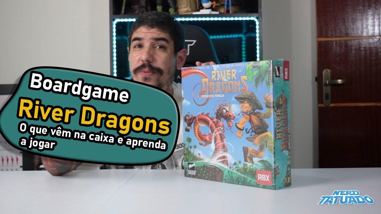 River Dragons - O que vêm na caixa e como jogar!!