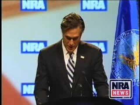Remarks by former Massachusetts Governor Mitt Romney 1