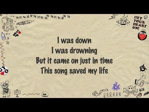 Simple Plan - This Song Saved My Life (Lyrics)
