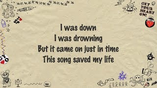 Simple Plan - This Song Saved My Life (Lyrics)