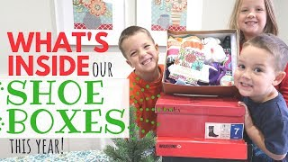 Operation Christmas Child Shoeboxes: What we put inside this year! (2018)