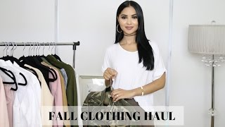 Early Fall Clothing Haul 2016 Diana Saldana